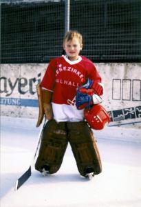 Markus Himmelstoß 1991 - Eishockeytorwart