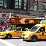 New York Bus und Taxi