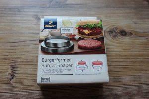 Tchibo Burgerformer Verpackung