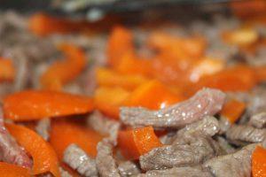 Beef und Paprika