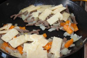 Philly Cheese Steak Sandwich - Pfanne