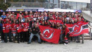 New Jersey Devils Fans Gruppenfoto