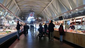 Fischmarkt in Göteborg - innen