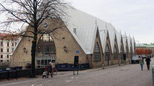 Fischmarkt in Göteborg - Freskekorka