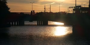 Stockholm - Sonnenuntergang